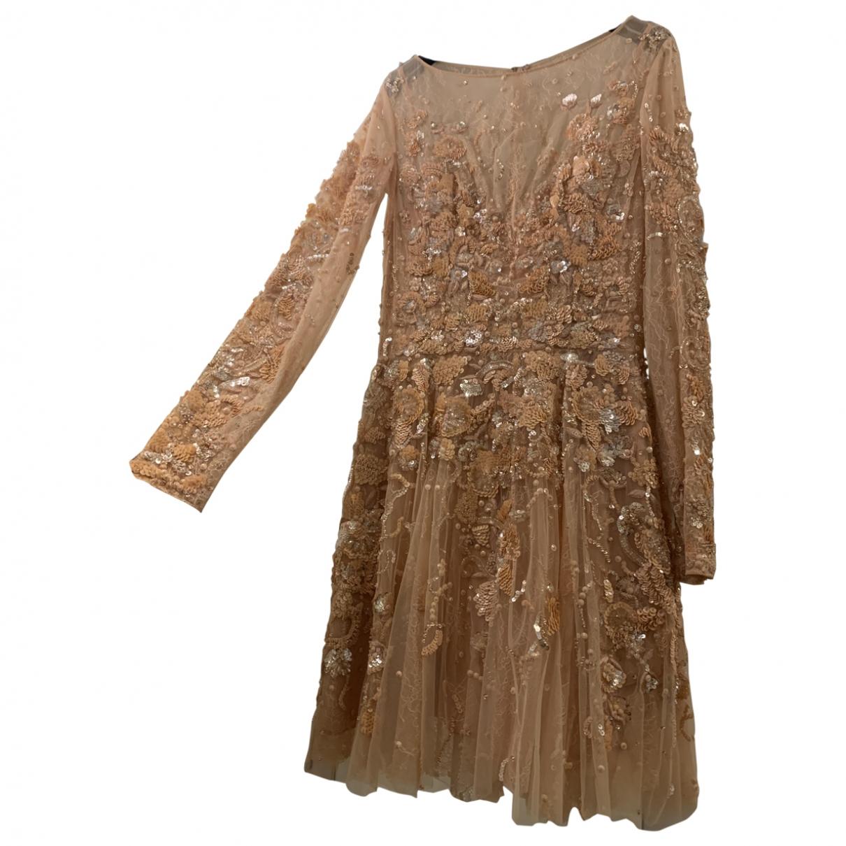 Zuhair Murad \N Kleid in  Rosa Mit Pailletten