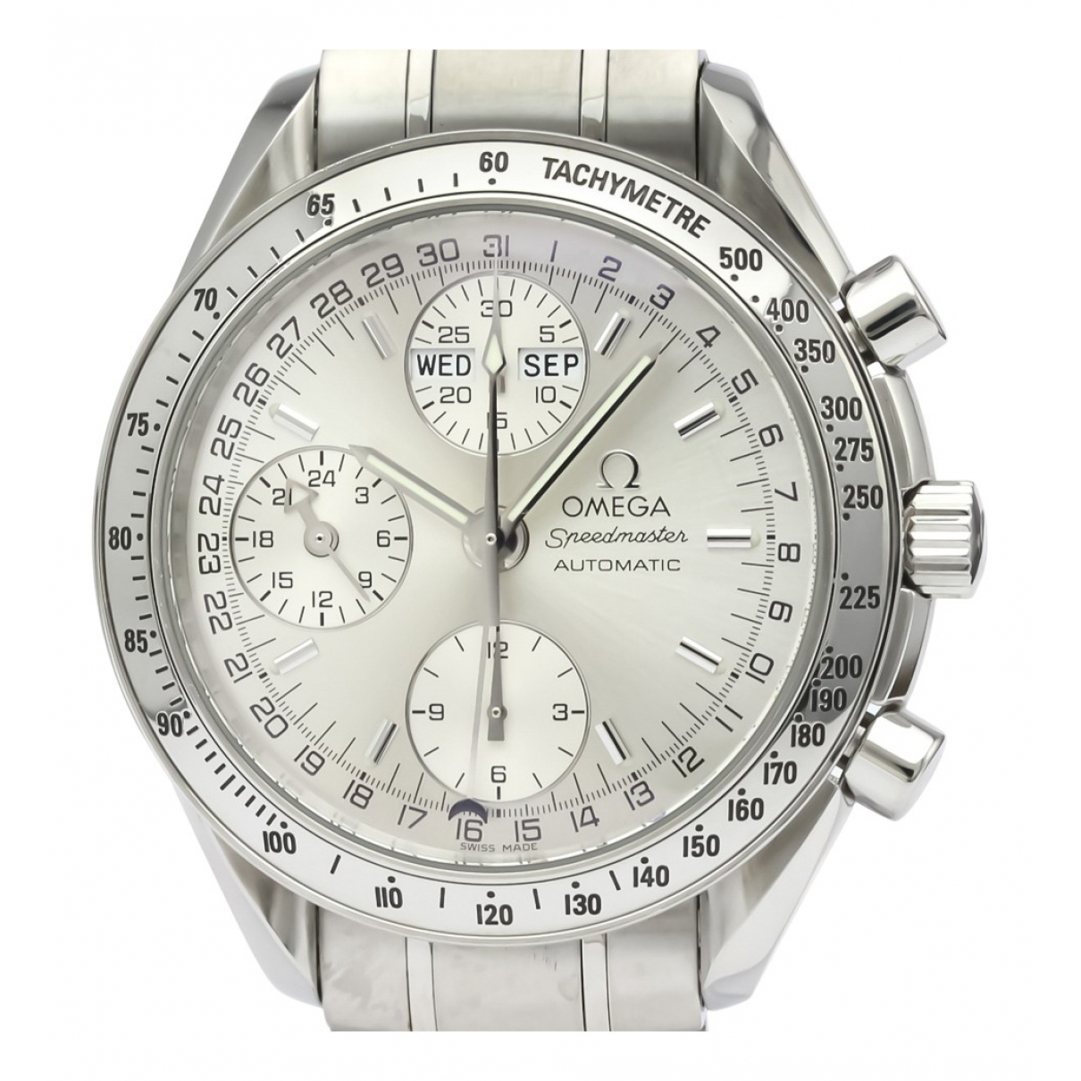Omega Speedmaster reduced Uhr in  Silber Stahl