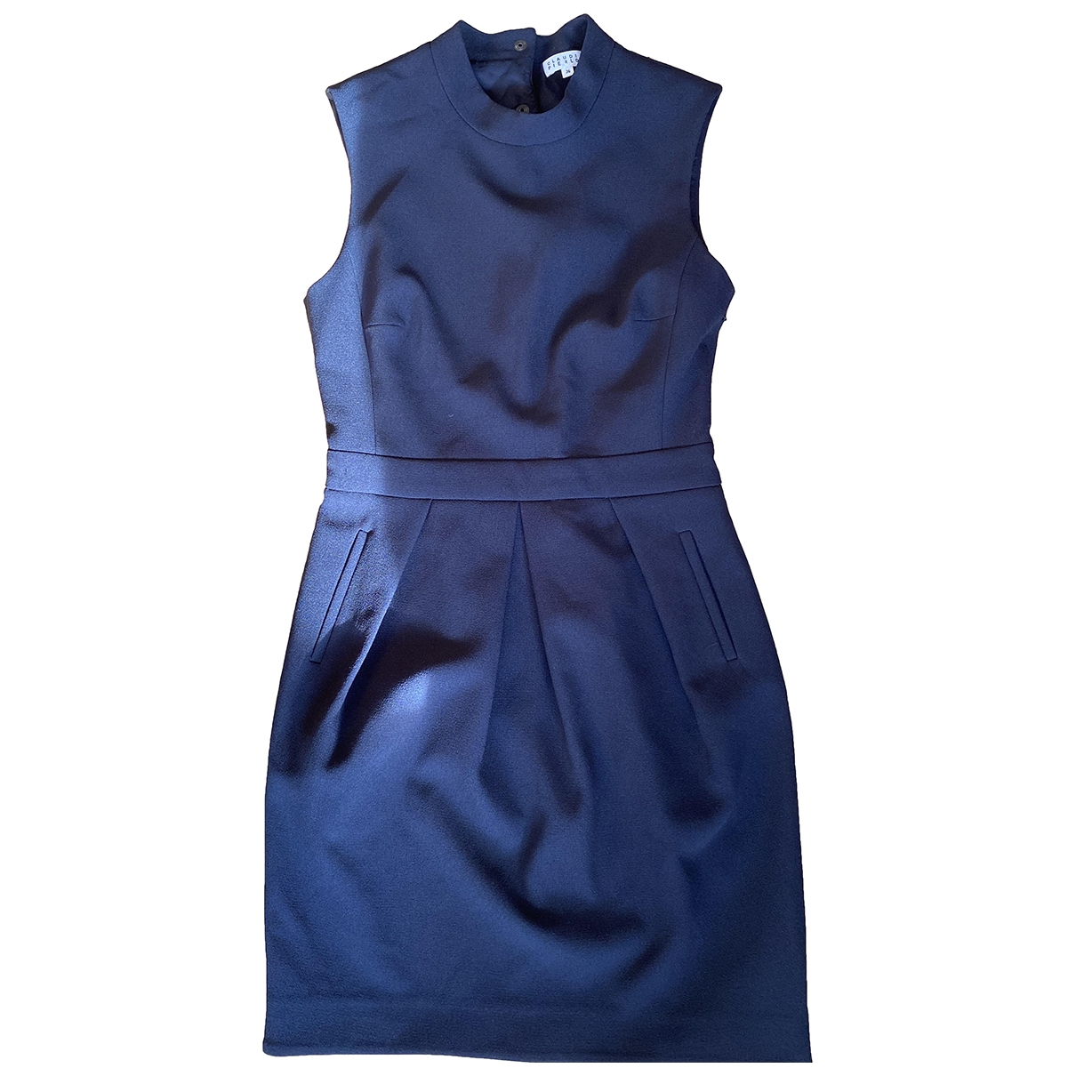 Claudie Pierlot \N Kleid in  Blau Polyester