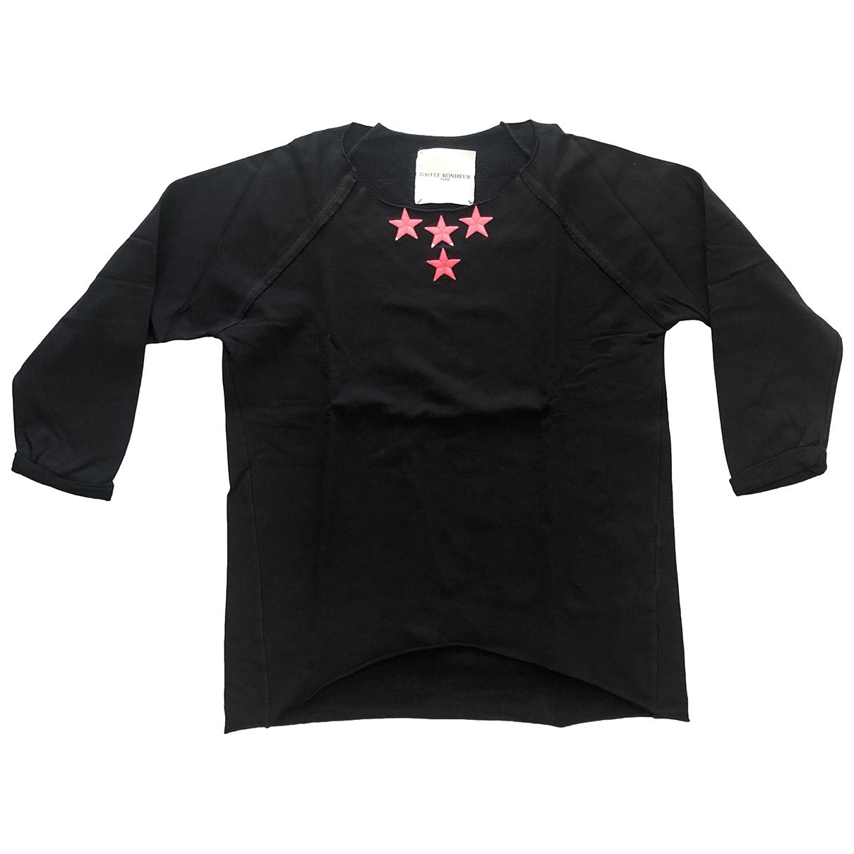 Gaelle Bonheur - Pull   pour femme en coton - noir