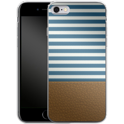 Apple iPhone 6 Silikon Handyhuelle - Nautical von caseable Designs