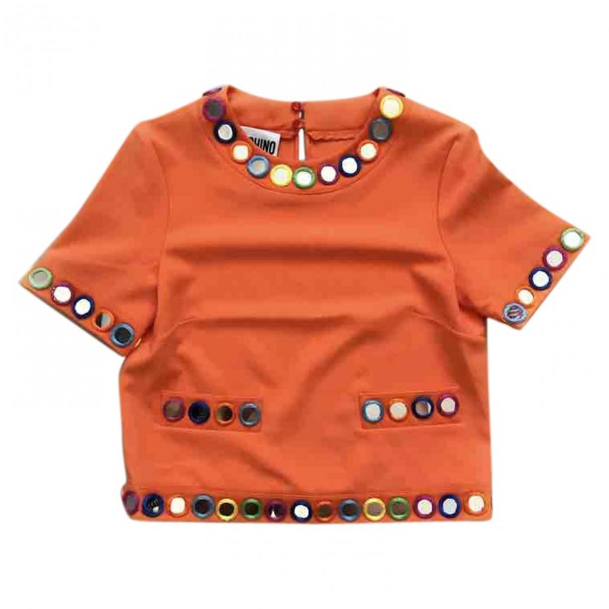Moschino \N Orange  top for Women 40 IT