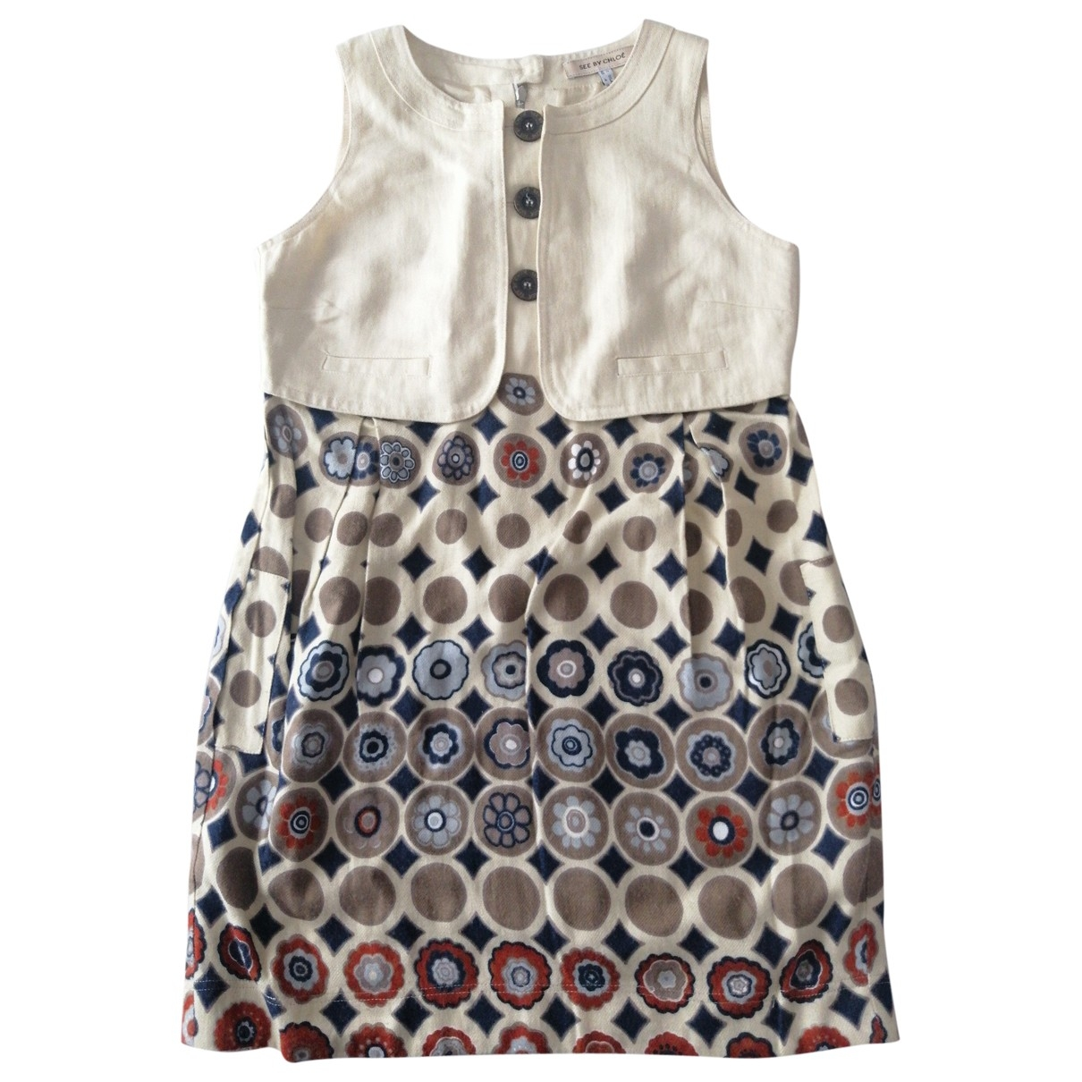 See By Chloé \N Multicolour Cotton dress for Women 40 IT
