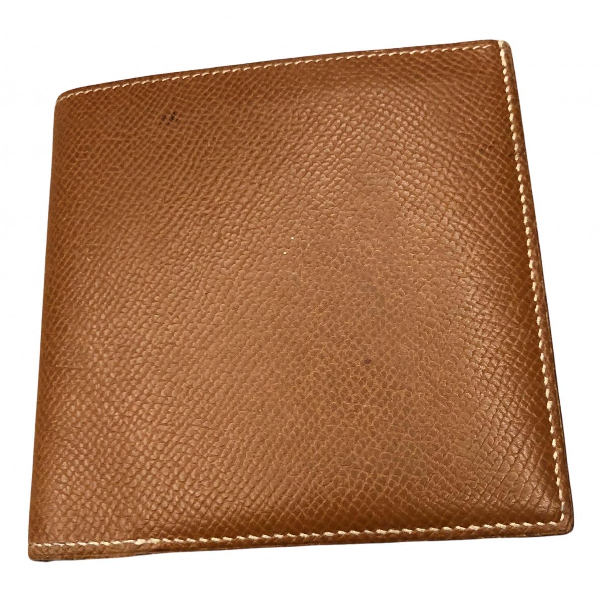 Hermes \N Portemonnaie in  Kamel Leder