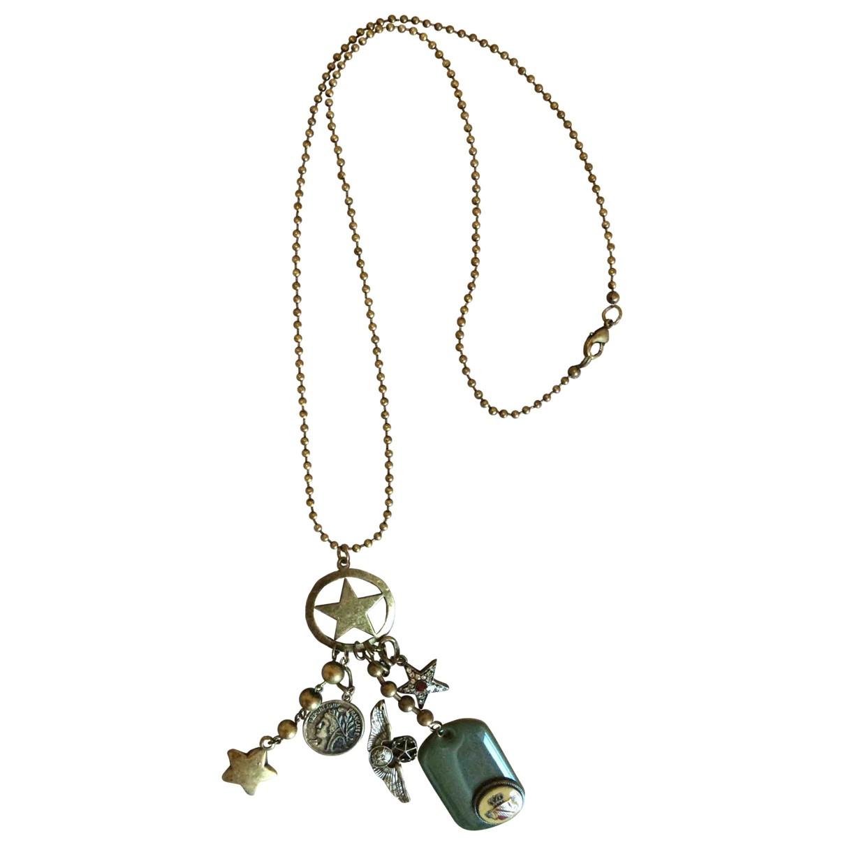 - Sautoir Medailles pour femme en metal - multicolore