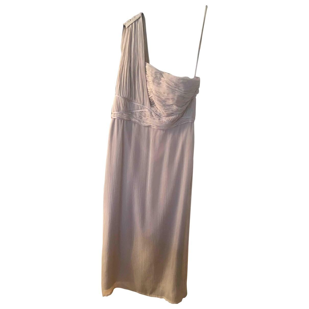 Luisa Beccaria - Robe   pour femme en soie - beige