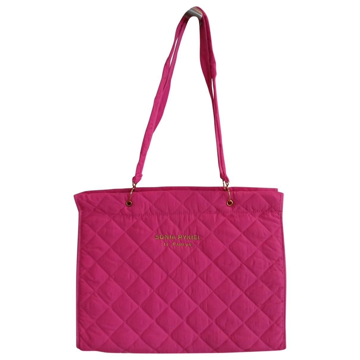 Sonia Rykiel \N Pink Cloth handbag for Women \N