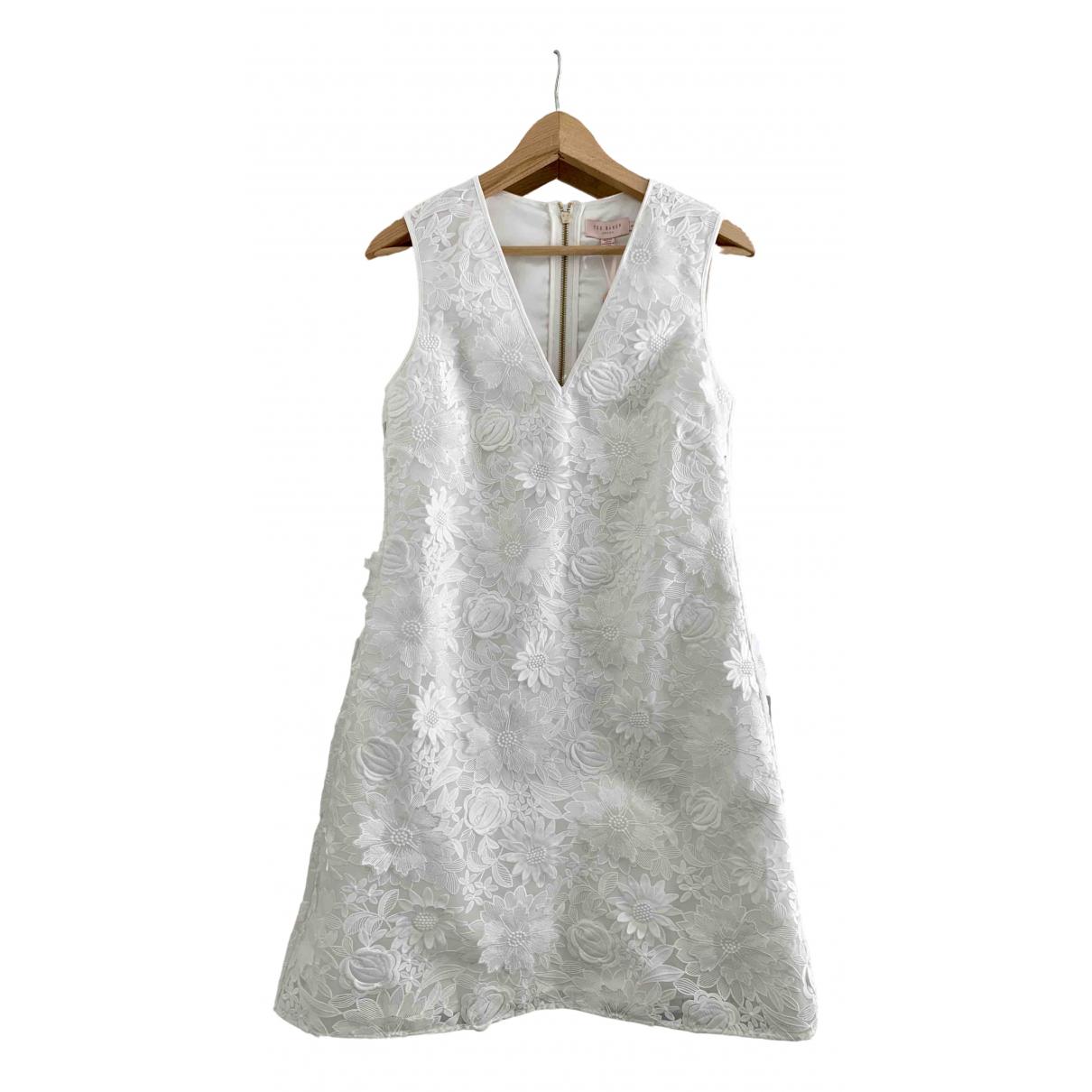 Ted Baker \N White dress for Women 1 0-5