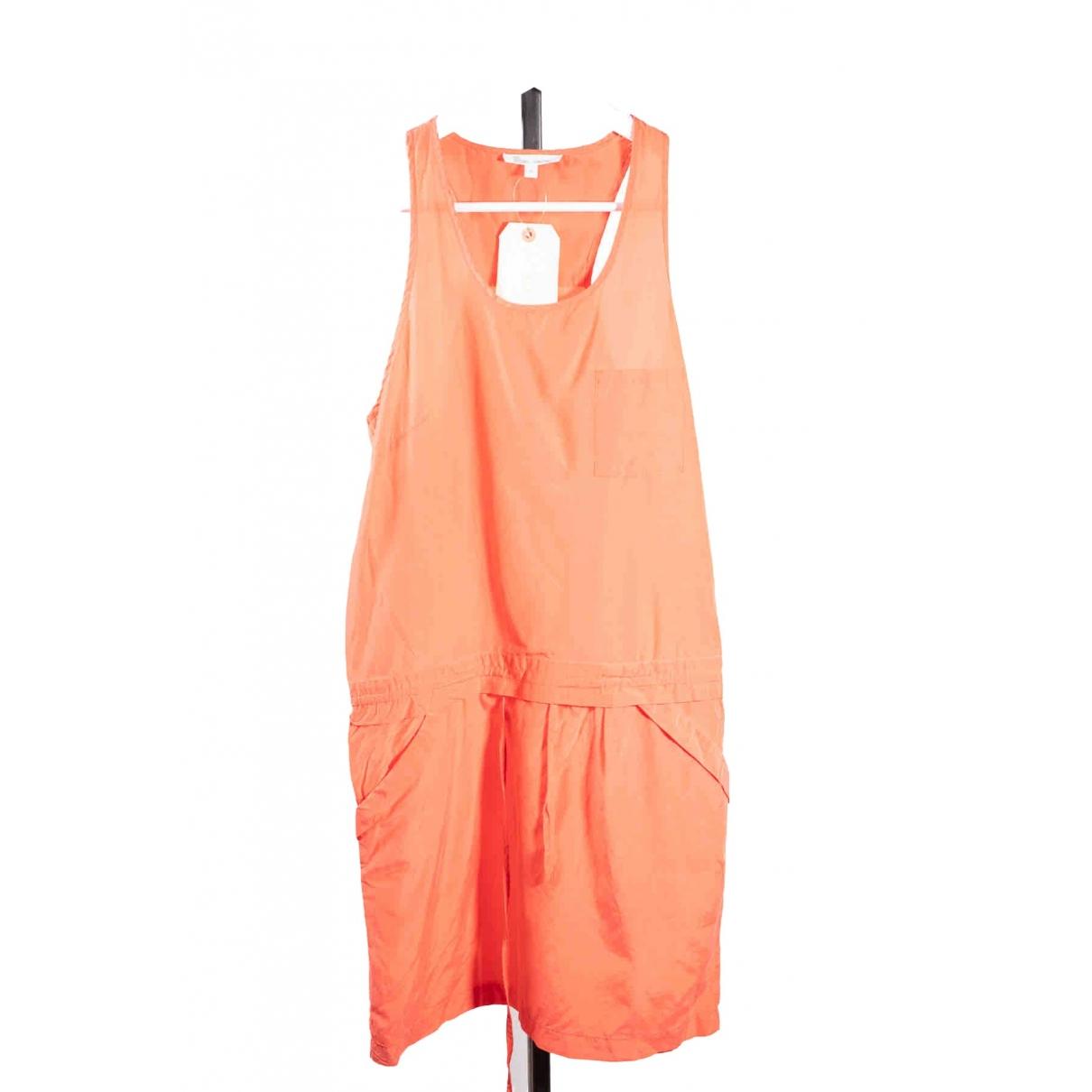 Les Petites \N Kleid in  Orange Seide