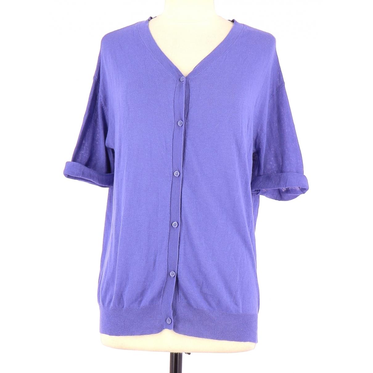 American Vintage - Pull   pour femme en coton - violet