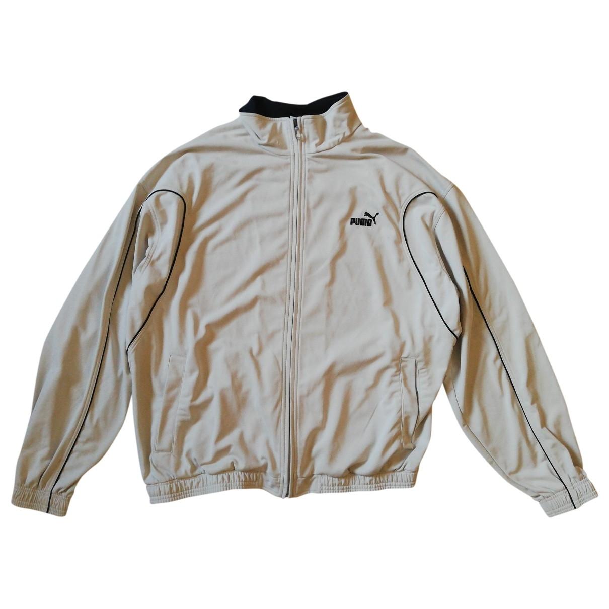 Puma \N Pullover.Westen.Sweatshirts  in  Weiss Polyester