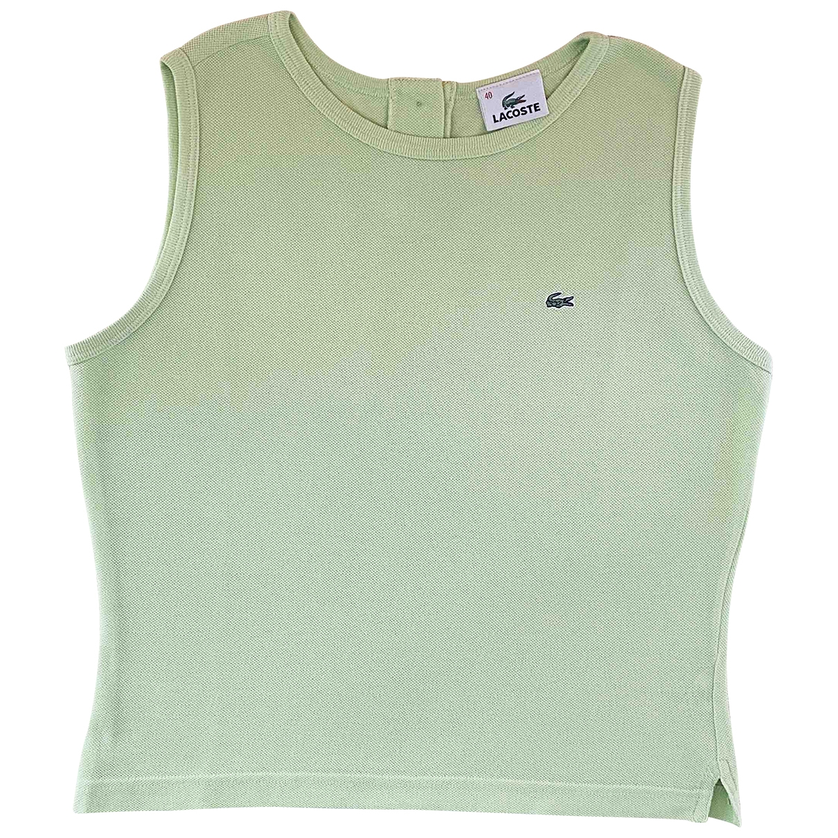 Lacoste \N Green Cotton  top for Women 40 FR