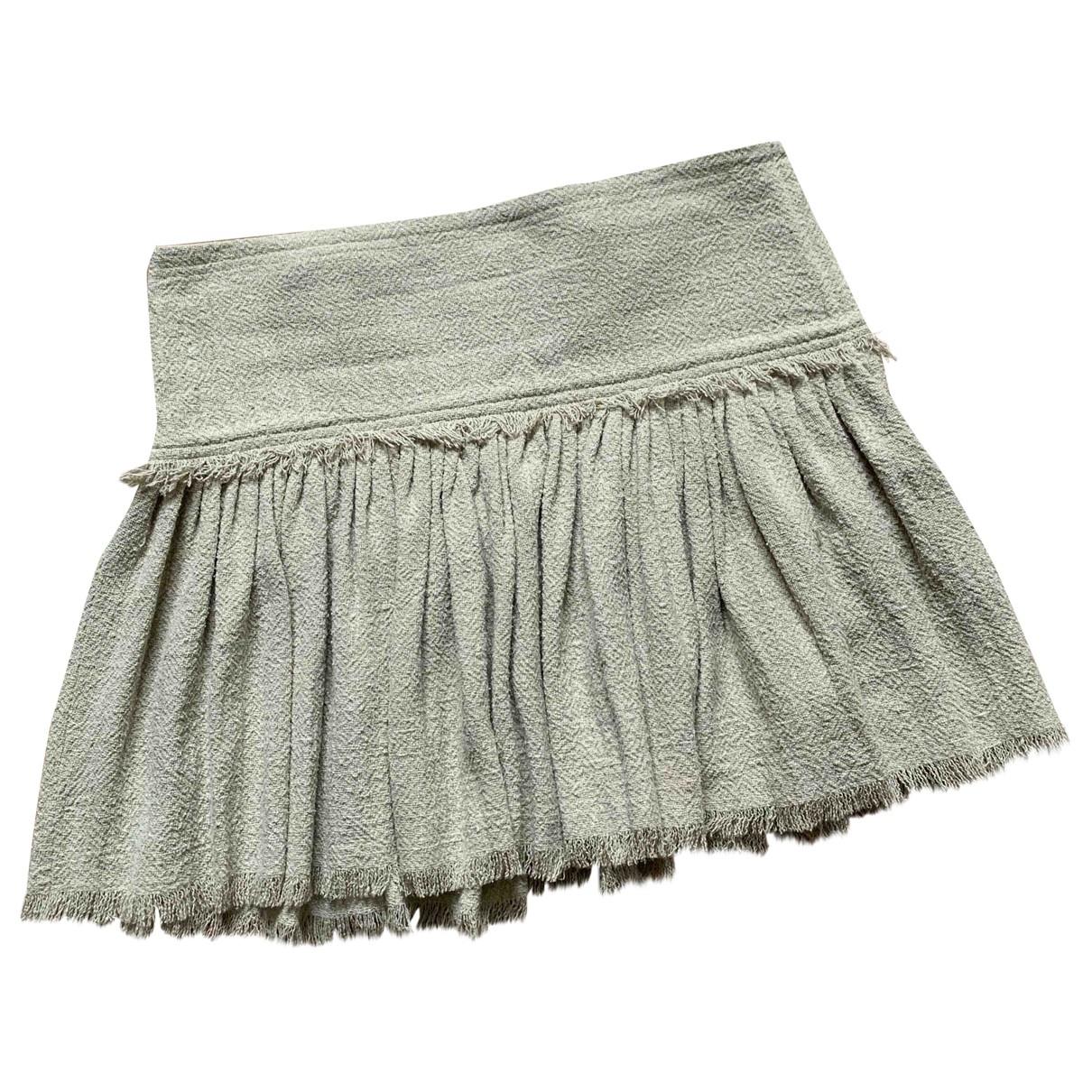 Isabel Marant Etoile \N Beige Silk skirt for Women 38 FR