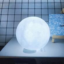 1 pieza luz nocturna en forma de luna