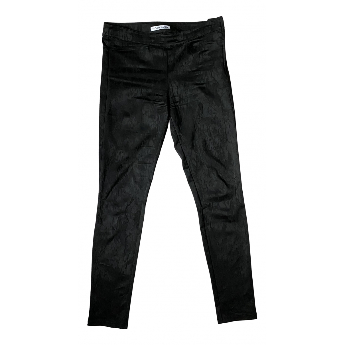 Rodebjer N Black Trousers for Women M International