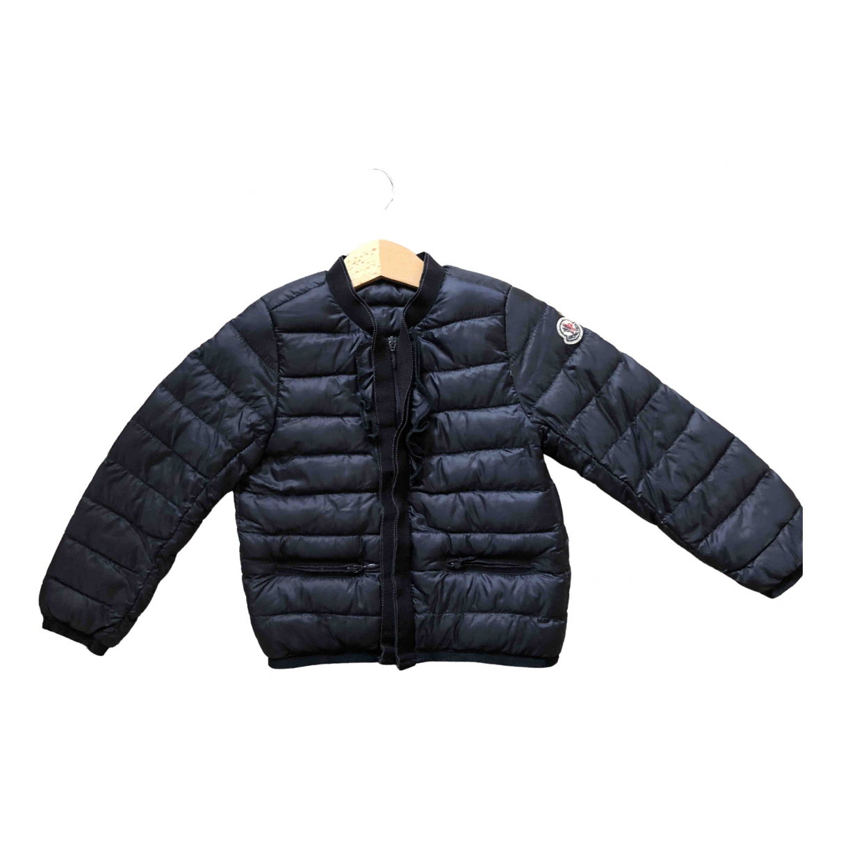 Moncler Classic Navy jacket & coat for Kids 2 years - up to 86cm FR