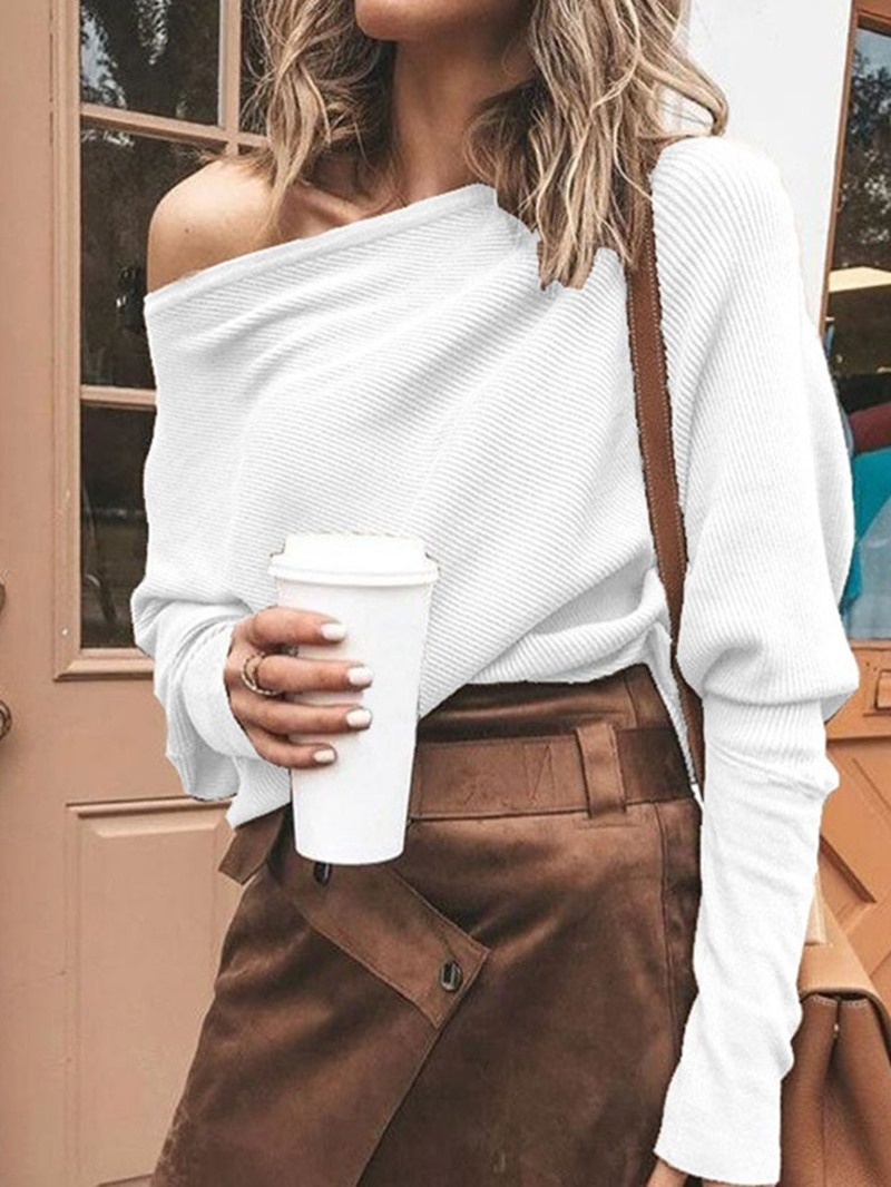 Ericdress Loose Mid-Length Sweater