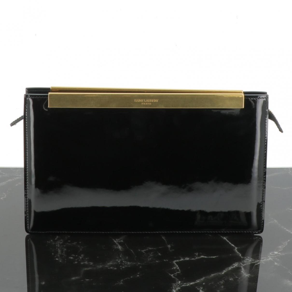 Yves Saint Laurent \N Black Patent leather Clutch bag for Women \N