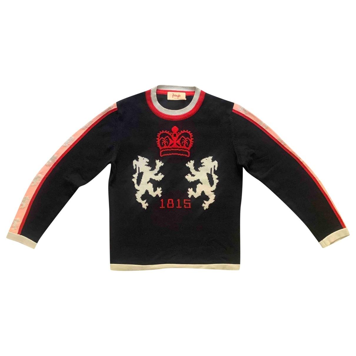 Pringle Of Scotland \N Navy Cotton Knitwear & Sweatshirts for Men M International
