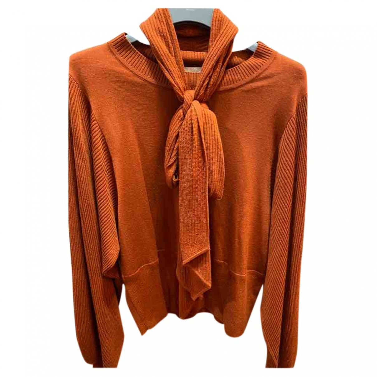 Chloé \N Orange Wool Knitwear for Women 36 IT