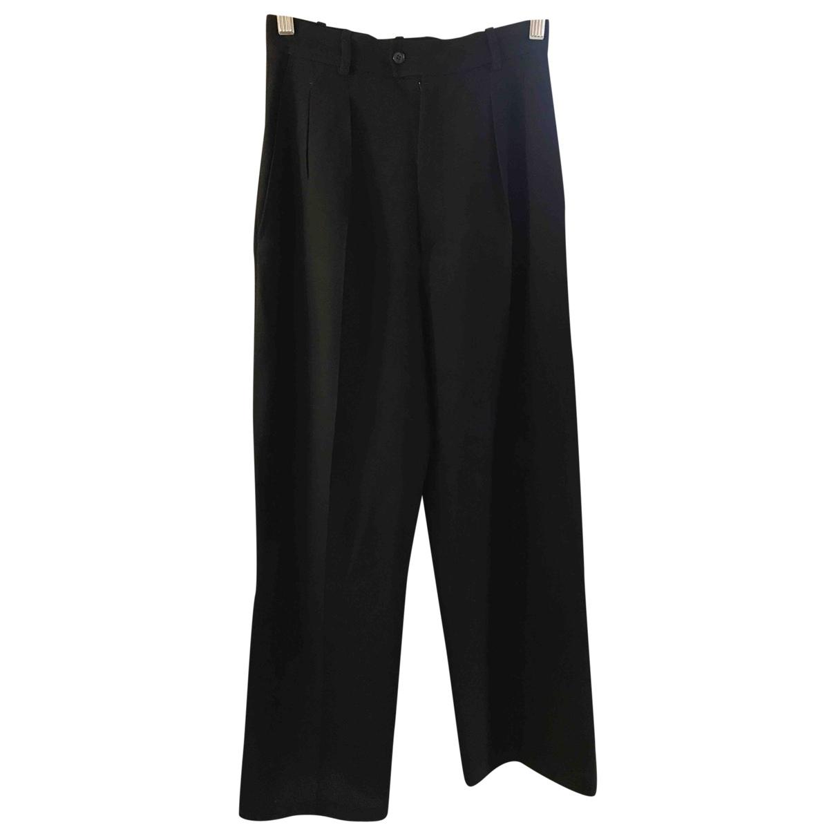 Pantalon recto de Lana Yves Saint Laurent