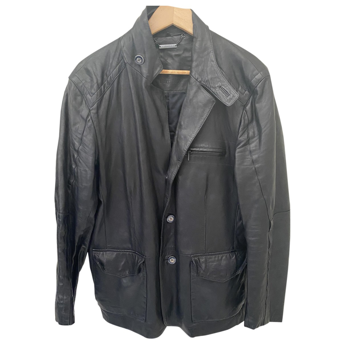 Karl Lagerfeld \N Jacke in  Schwarz Leder