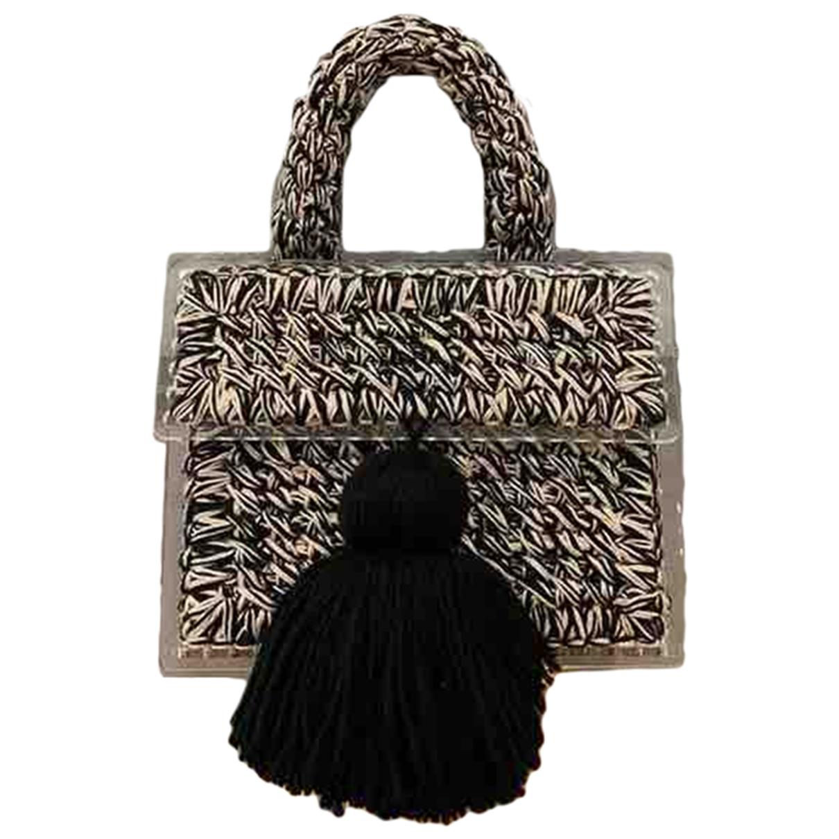 Non Signé / Unsigned \N Black handbag for Women \N