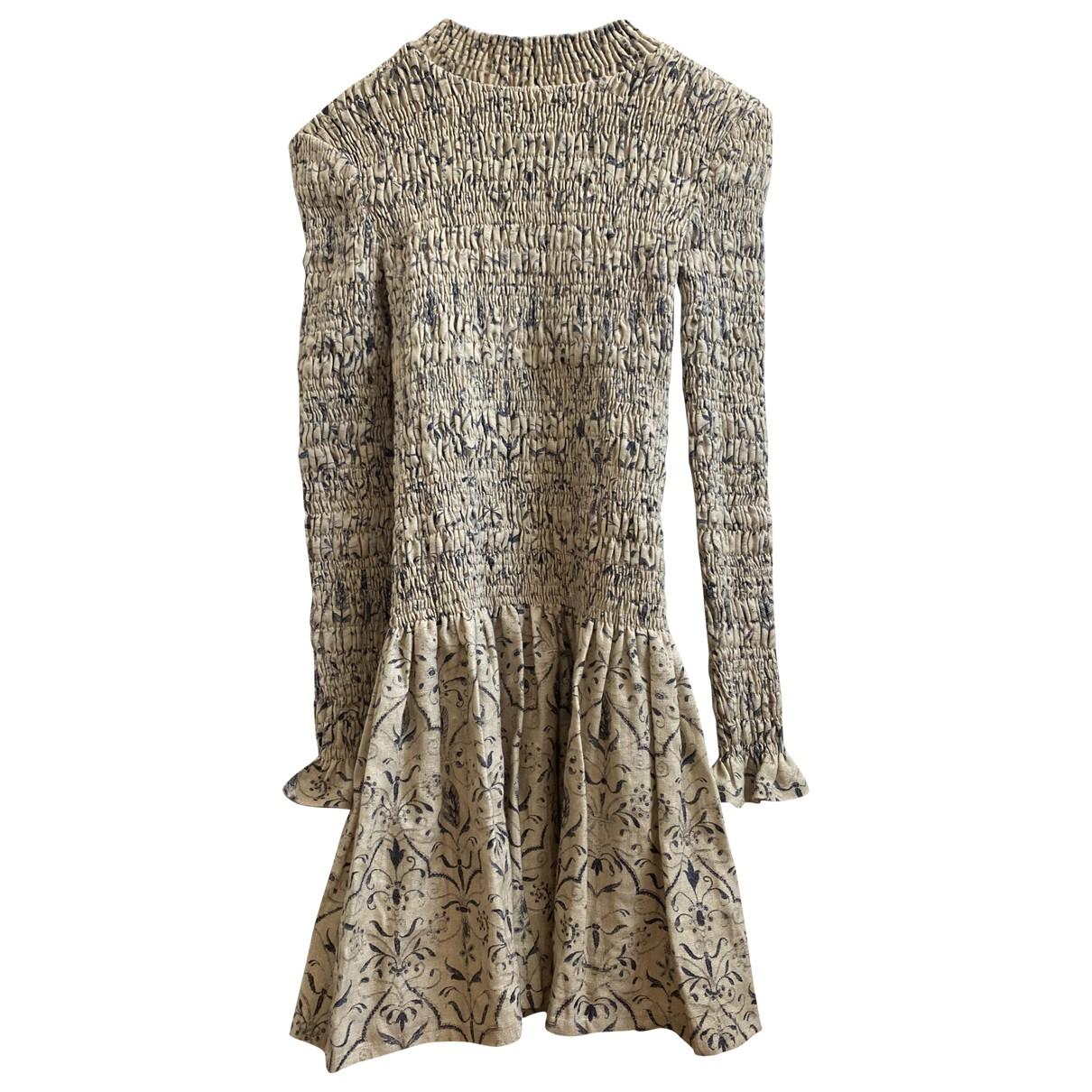 Mini vestido de Lino Sir The Label