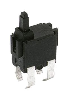 C & K Detector Switch, SPST-NO, 100 mA @ 30 V dc, Tin Bronze (350)