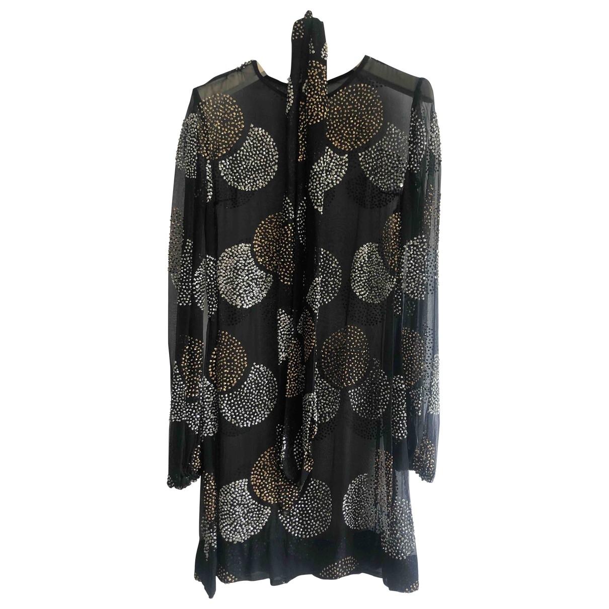 Sonia Rykiel \N Black Glitter dress for Women 38 FR