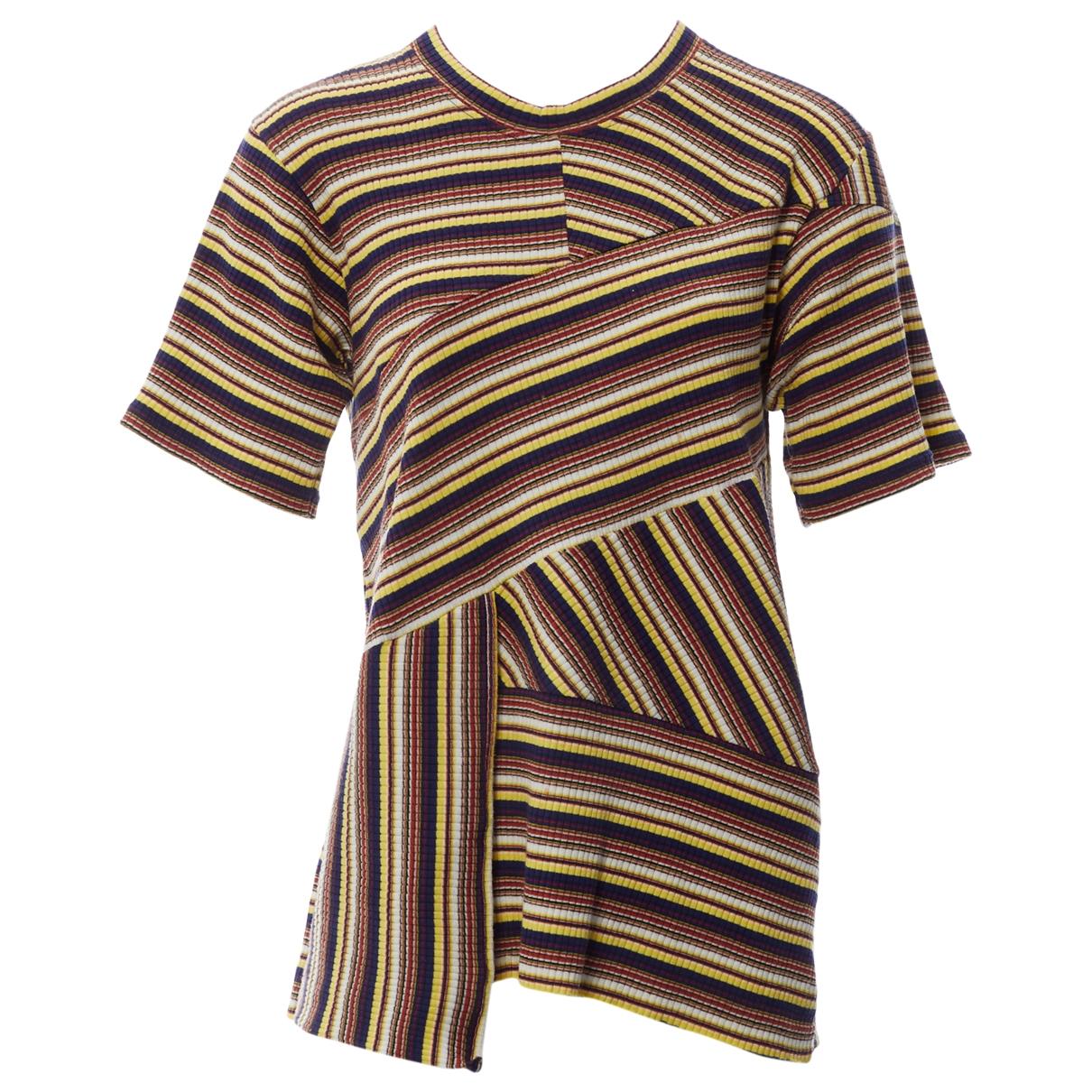 Marques Almeida - Top   pour femme en coton - multicolore