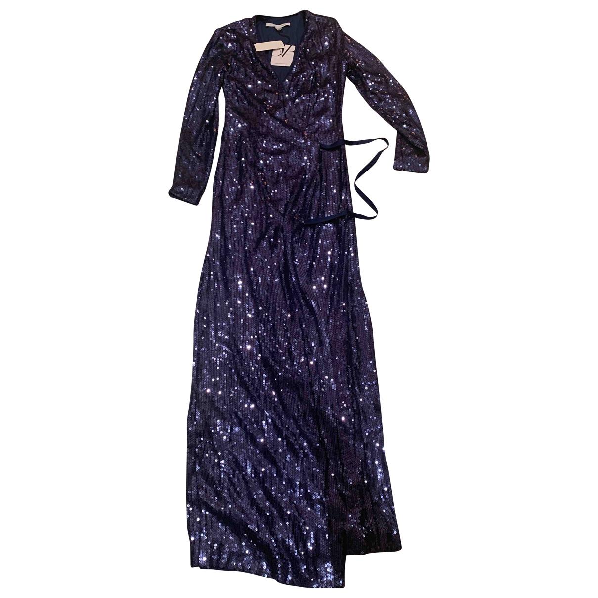 Diane Von Furstenberg \N Navy Silk dress for Women 2 US