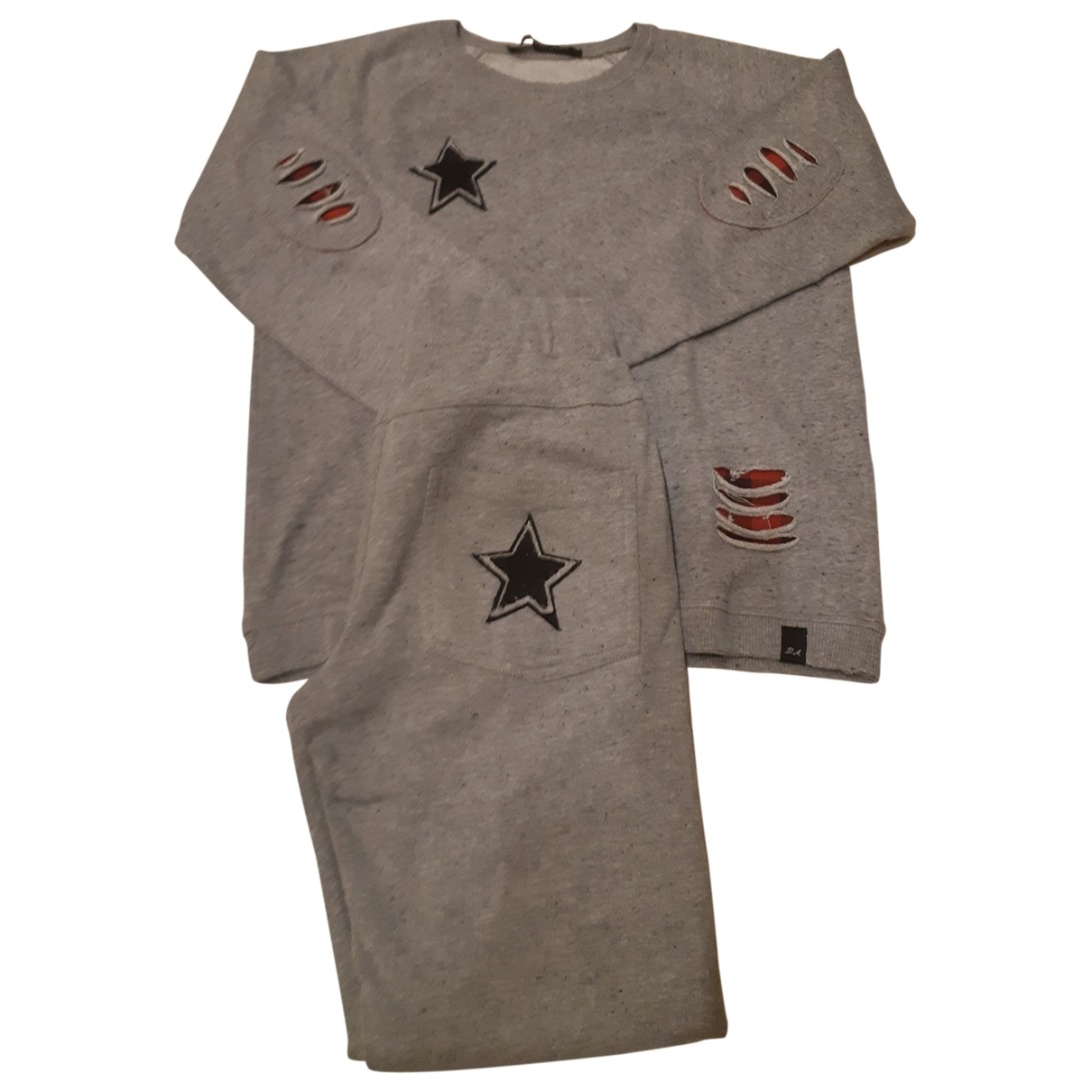 Daniele Alessandrini \N Grey Cotton Outfits for Kids 10 years - up to 142cm FR