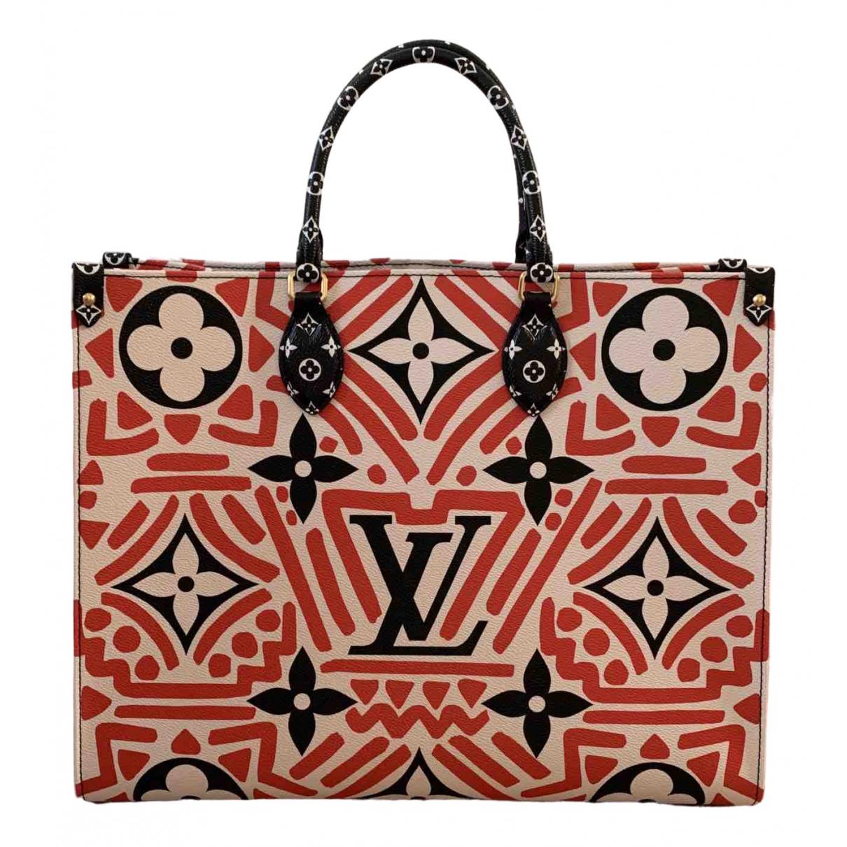 Louis Vuitton Onthego Multicolour Cloth handbag for Women \N