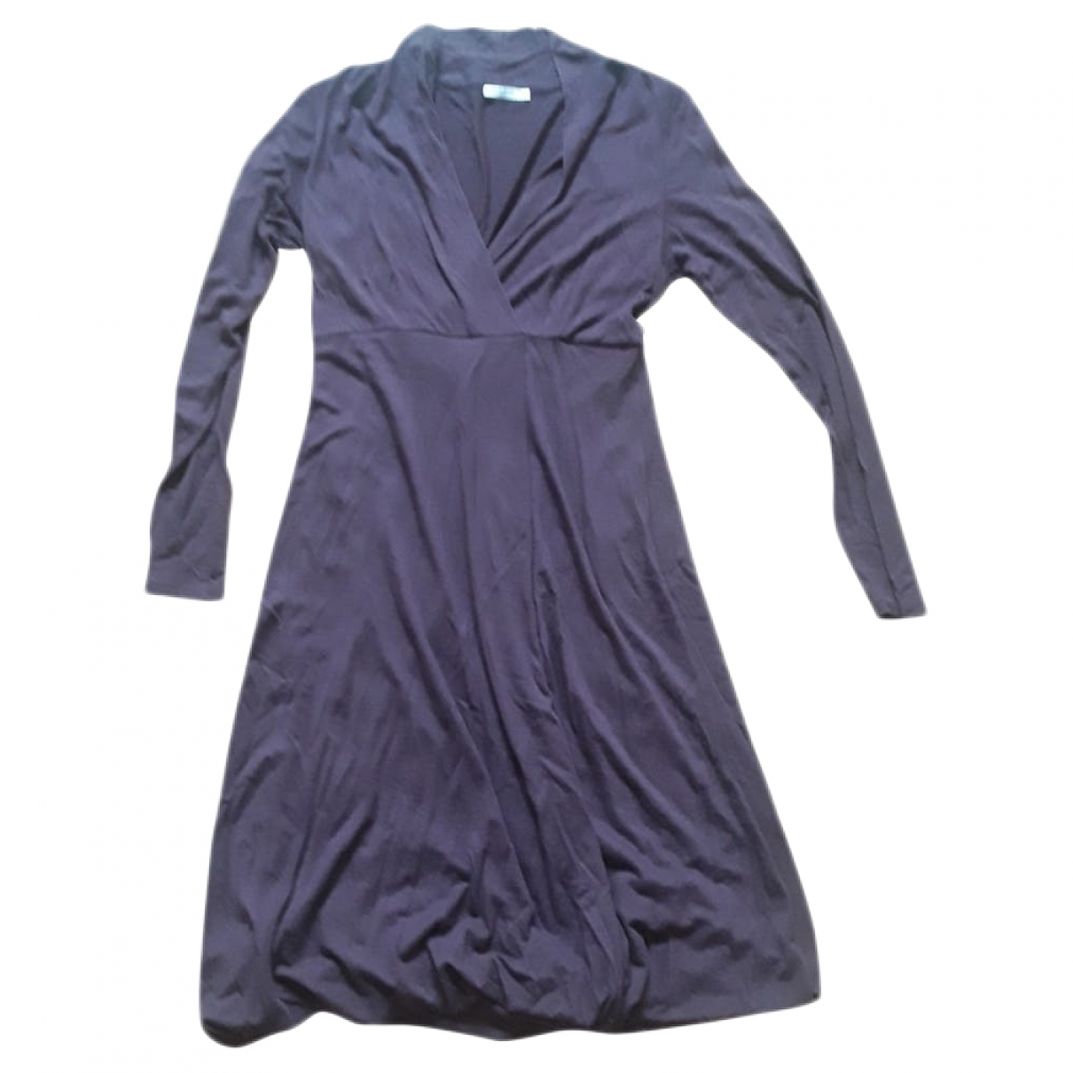 Marella \N Purple Cotton dress for Women S International