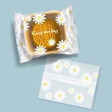 100 Stuecke Zufaellige Pakettasche mit Gaensebluemchen Muster