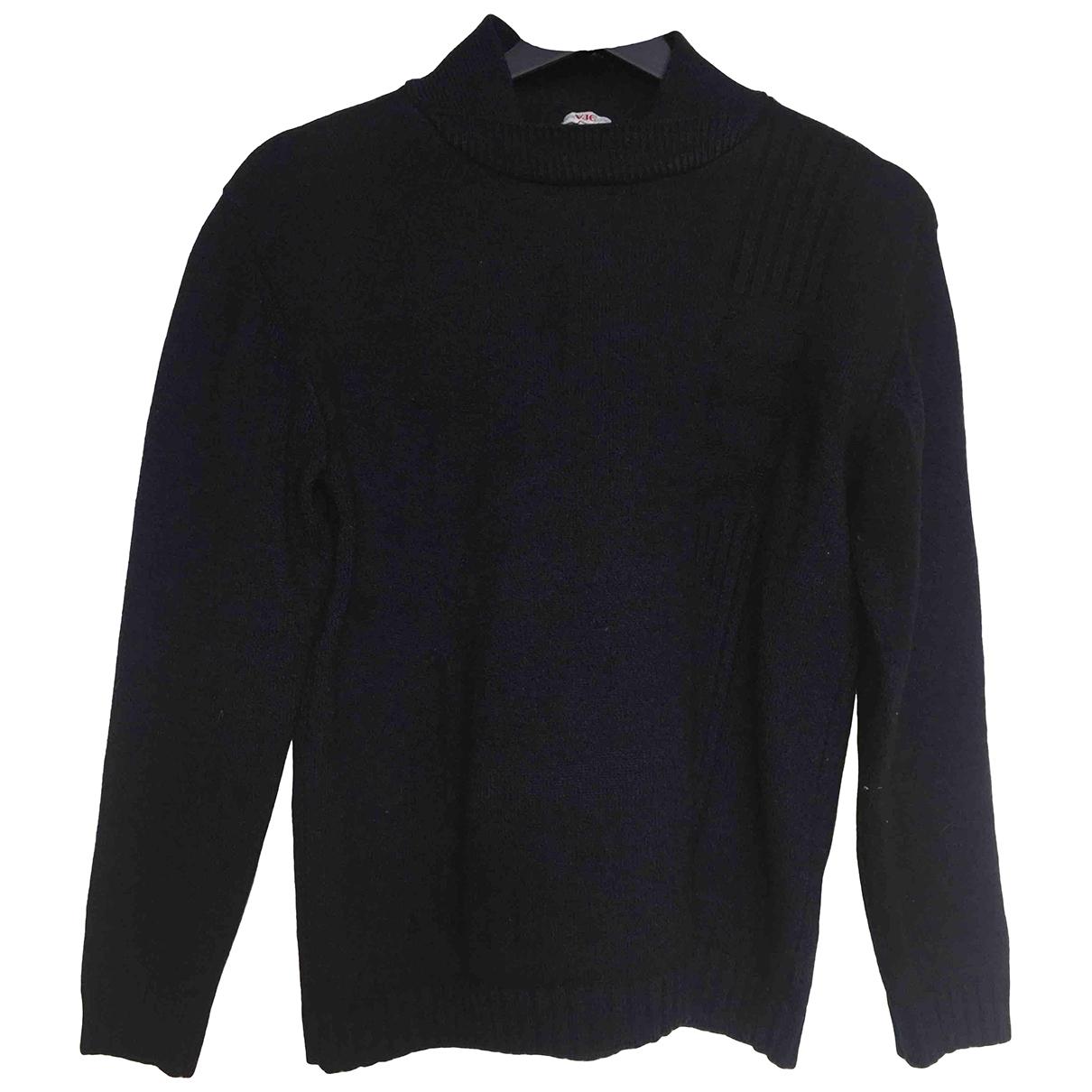 Versace Jean - Pull   pour femme en laine - bleu