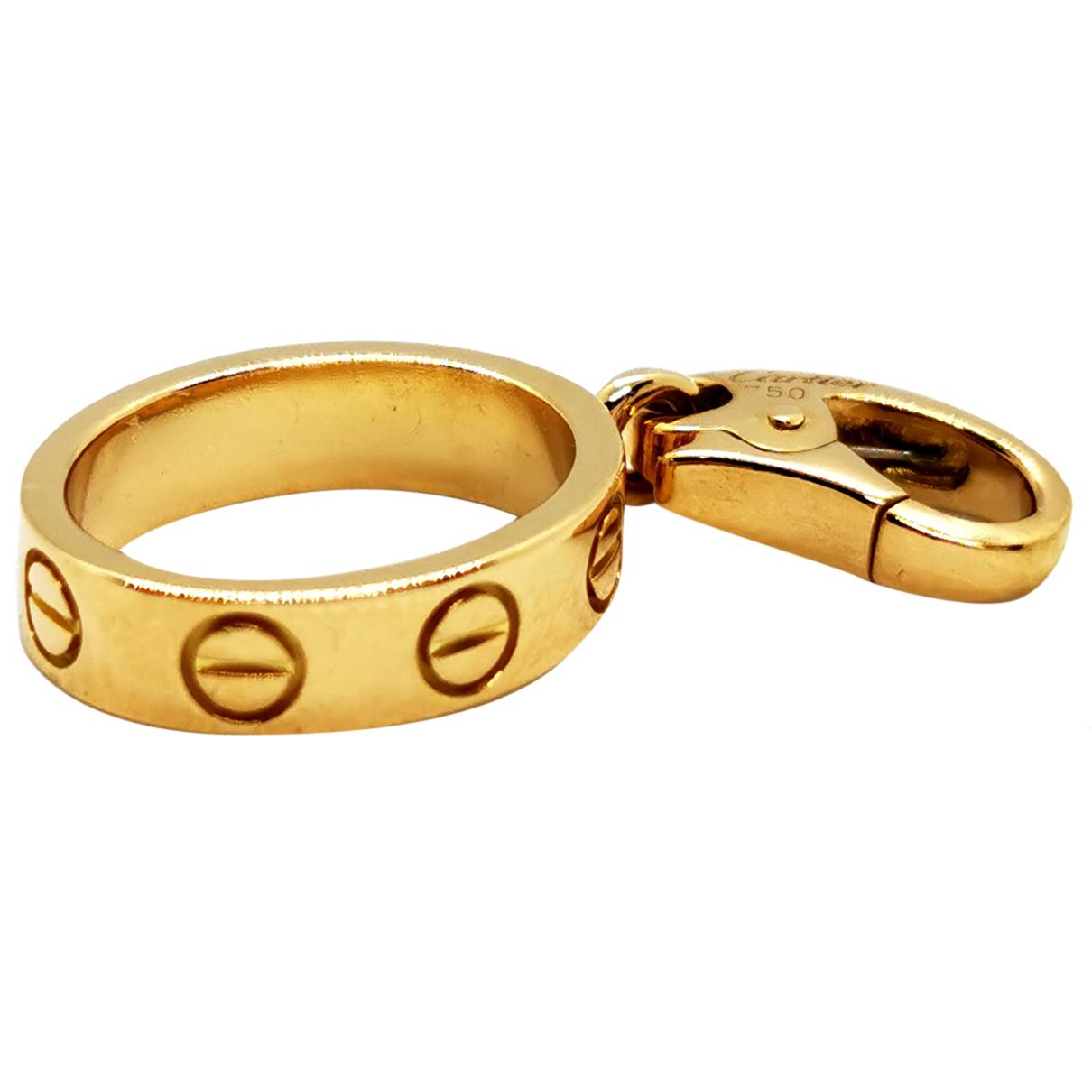 Colgante Love de Oro amarillo Cartier