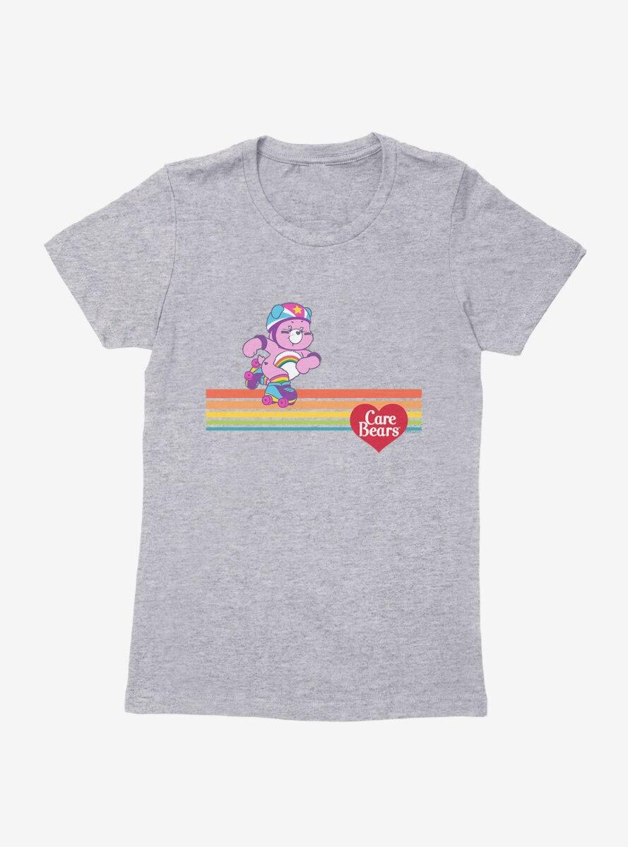 Care Bears Cheer Bear Skating Womens T-Shirt