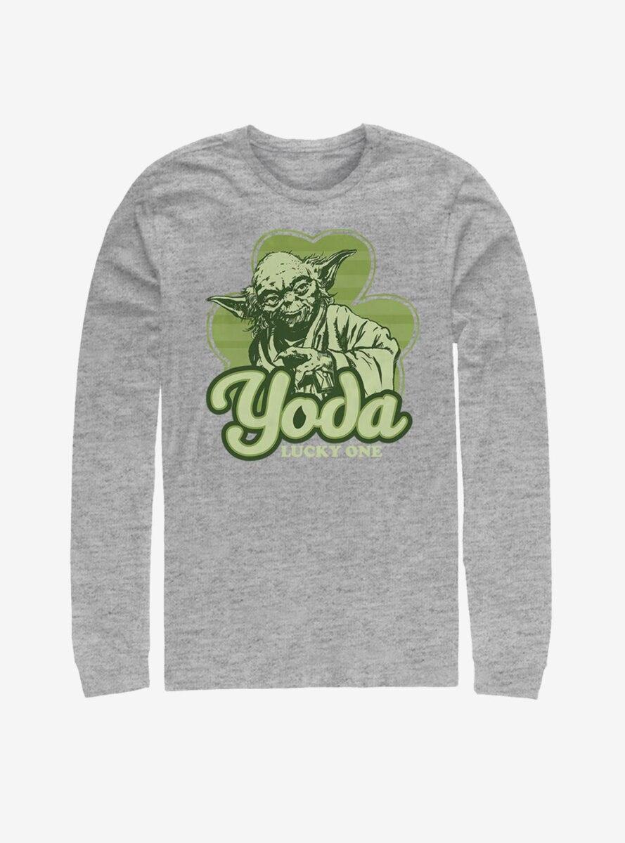 Star Wars Yoda Lucky Retro Long-Sleeve T-Shirt