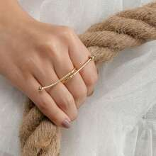 Knot Decor Ring 1pc