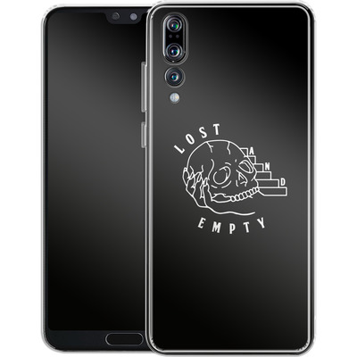 Huawei P20 Pro Silikon Handyhuelle - Lost and Empty von caseable Designs