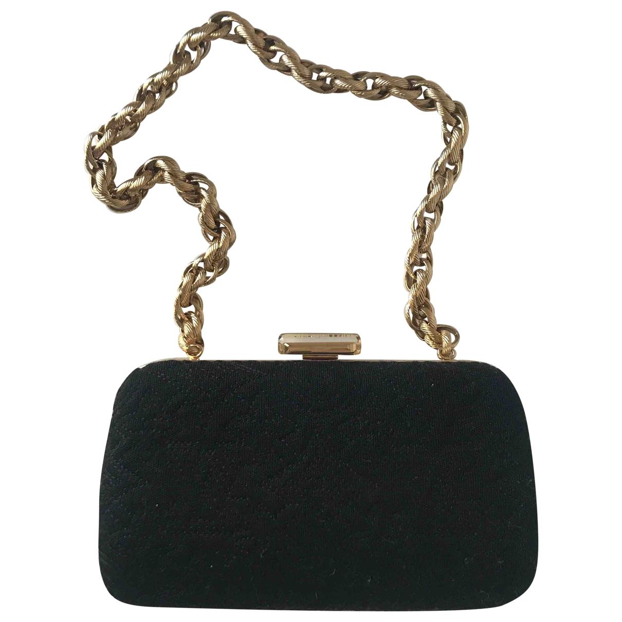 Bolsos clutch en Algodon Negro Louis Vuitton