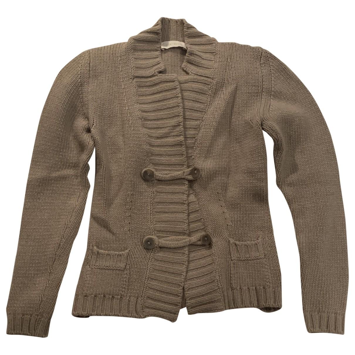 Non Signé / Unsigned \N Beige Wool Knitwear for Women 38 IT