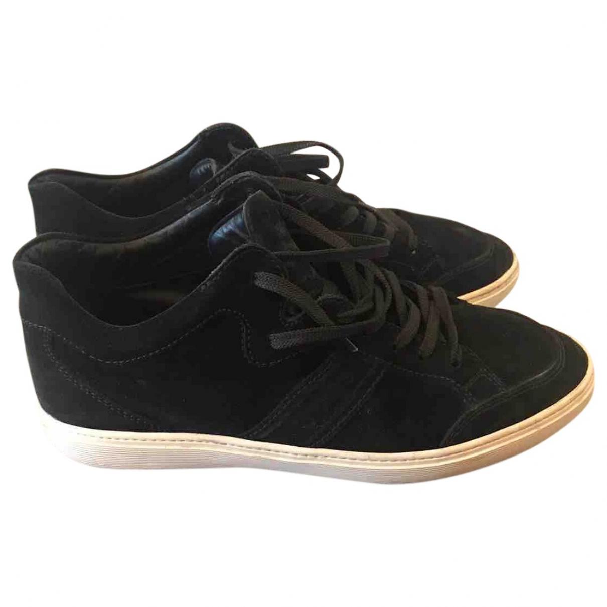 Tods \N Sneakers in  Schwarz Veloursleder