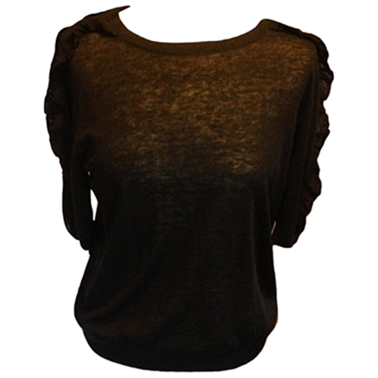 Lauren Ralph Lauren \N Black Linen Knitwear for Women M International