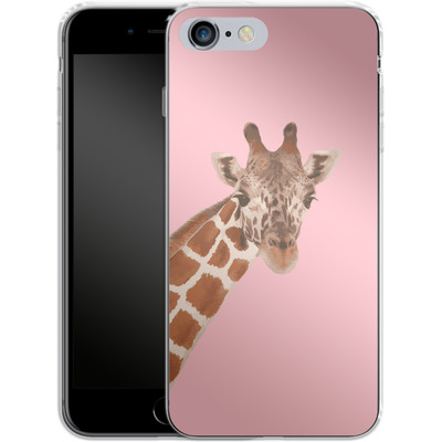 Apple iPhone 6 Plus Silikon Handyhuelle - Giraffe Pride von Mukta Lata Barua
