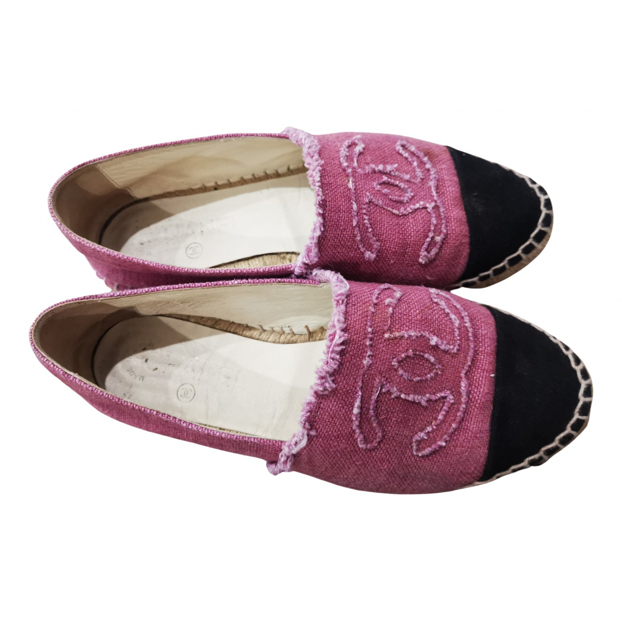 Chanel \N Espadrilles in  Rosa Denim - Jeans