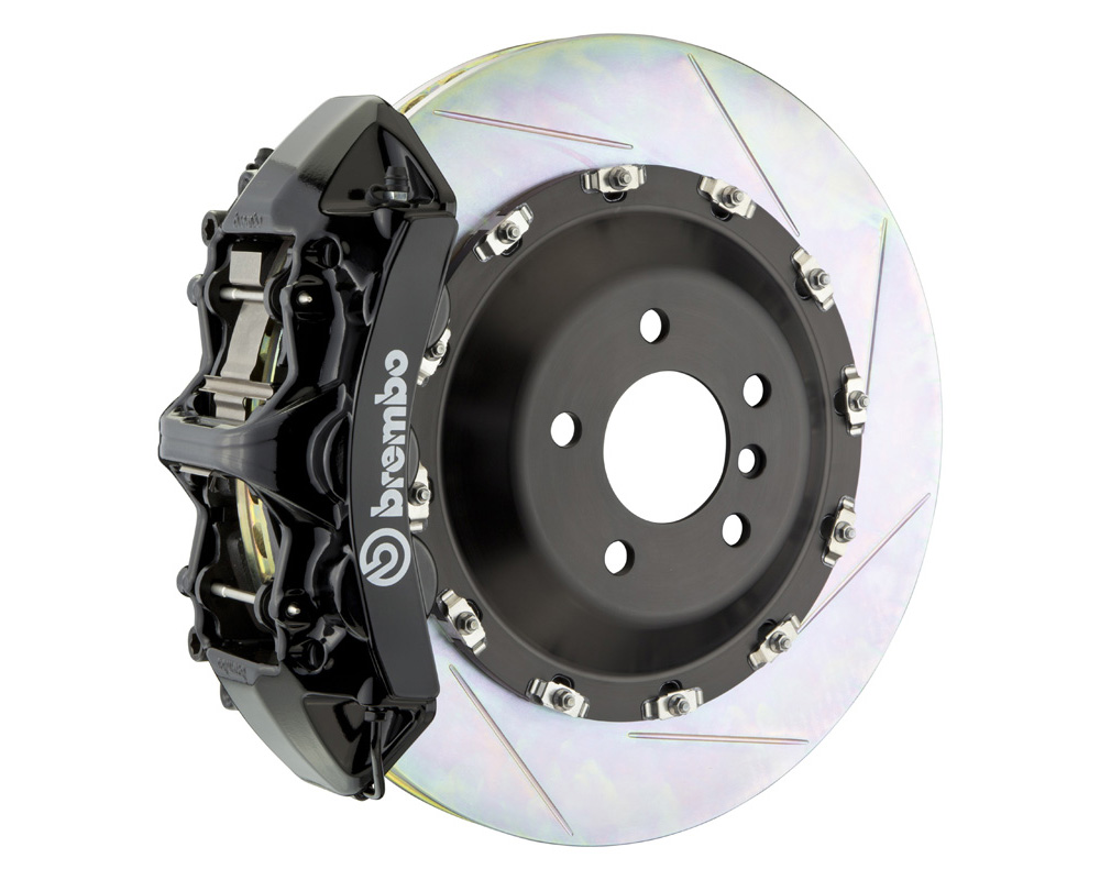 Brembo GT 405x34 2-Piece 6 Piston Black Slotted Front Big Brake Kit