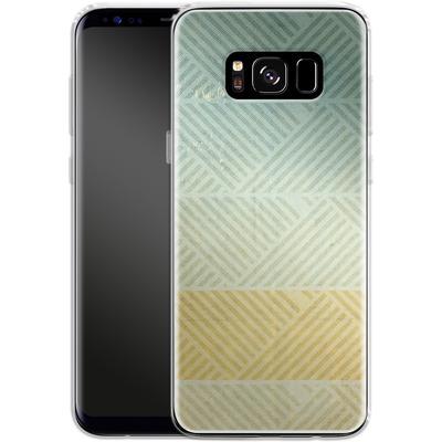 Samsung Galaxy S8 Silikon Handyhuelle - Triangles Artifact von Brent Williams